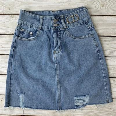 Юбка джинсовая (5015-CD) - фото 27397