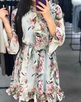 Платье (крупный принт)