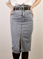 Юбка джинсовая (5505)