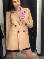 Пиджак удлиненный на пуговицах (044933)