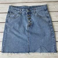 Юбка джинсовая (5011) XL-5XL