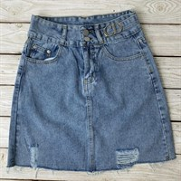 Юбка джинсовая (5015-CD)