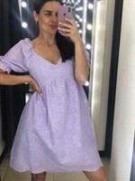 Платье с вышивкой (044978)