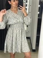 """Платье шифон """"Цветы"""" (9905)"""