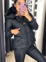 Куртка короткая с капюшоном (2669) раз. М-2XL