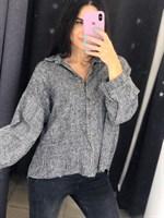 Рубашка теплая укороченная (2025-W)