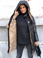 Куртка двухсторонняя зима (90365)
