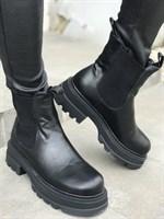 Ботинки зимние кожа (A803-31)